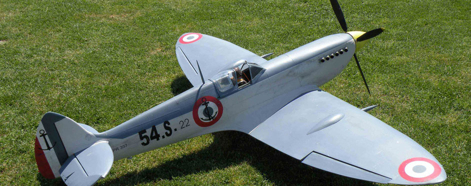 French Navy Spitfire MK IX - Jets RC - Aviation Design