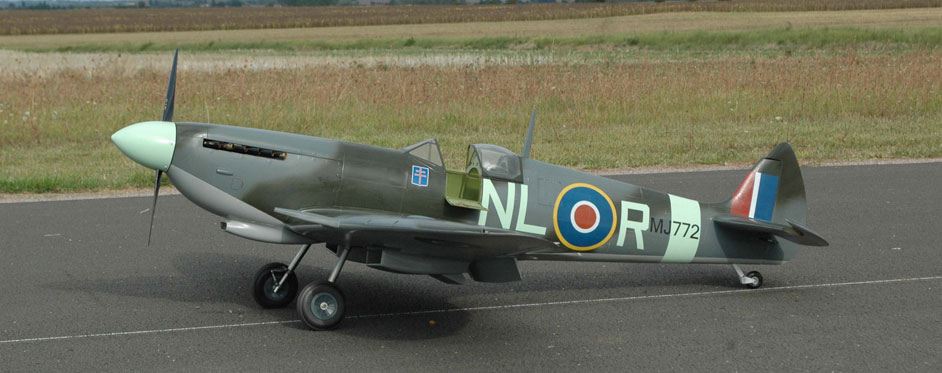 Nicolas Bonnin's Spitfire - Jets RC - Aviation Design