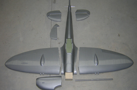 Kit complet Spitfire - Prop ARF - Aviation Design