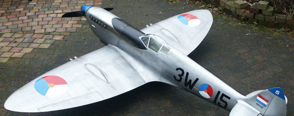 Spitfire de Tom Verstappen - Jets RC - Aviation Design
