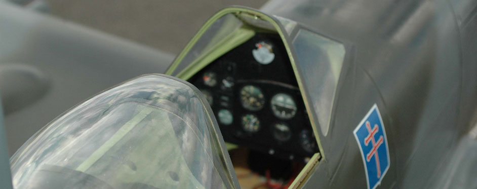 spitfire détails du cockpit - Jets RC - Aviation Design