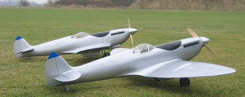 Spitfire en patrouille - Jets RC - Aviation Design