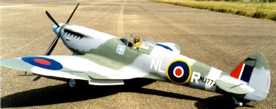 Spitfire livrée bataille d'angleterre - Jets RC - Aviation Design