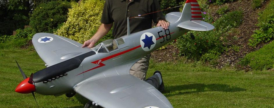 Spitfire livrée Israélienne de Fred Grunow - Jets RC - Aviation Design
