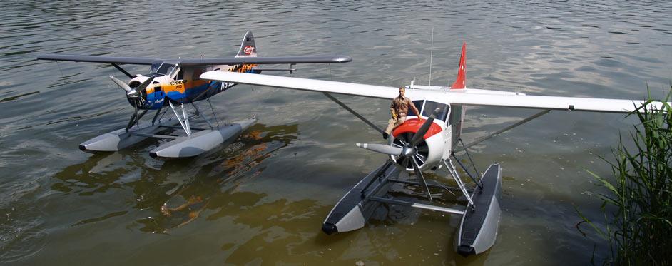2 Beaver version hydravion - Jets RC - Aviation Design