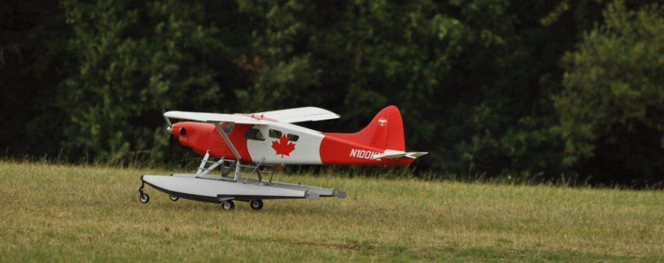 Turbo Beaver Canada à l'atterrissage - Jets RC - Aviation Design