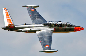 Kit FOUGA MAGISTER 1/3 - Jet radio-commandé - Aviation Design