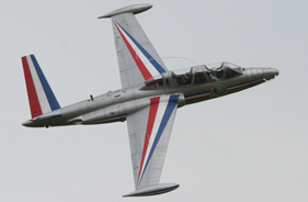 Kit FOUGA MAGISTER 1/4 - Jet radio-commandé - Aviation Design