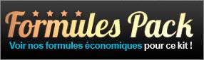 Formules pack : voir nos formules économiques pour ce kit