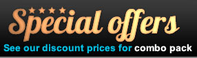 Special offers : see our discount prices for combo pack