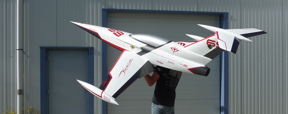 diamond blanc de compétition - Jets RC - Aviation Design