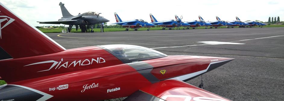 diamond prêt au décollage - Jets RC - Aviation Design