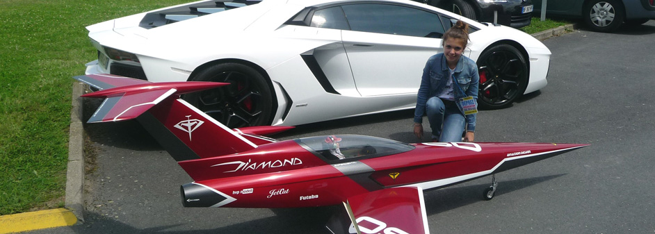 diamond versus lamborghini - Jets RC - Aviation Design