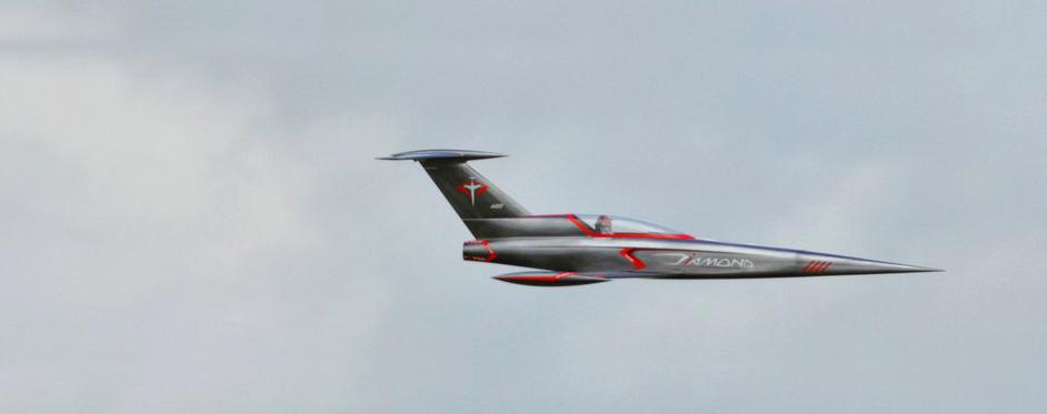 Passage grand vitesse du Diamond - Jets RC - Aviation Design