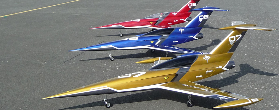 Trio Diamond - Jets RC - Aviation Design