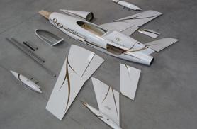 Diamond est entièrement démontable - Jets radio-commandés - Aviation Design