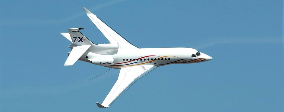 Falcon 7X à Florida Jet - Jets RC - Aviation Design