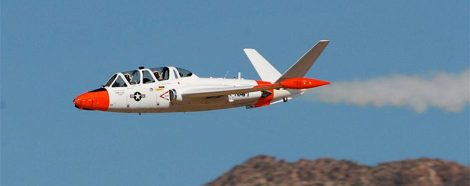 Fouga Magister livrée USA en Arizona - Jets RC - Aviation Design