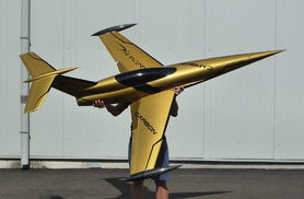 Mini Diamond gold - Jets radio-commandés - Aviation Design