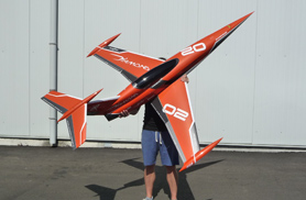 Mini Diamond orange - Jets radio-commandés - Aviation Design