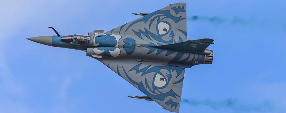 Mirage 2000 d'Ali Machinchy en démonstration - Jets RC - Aviation Design