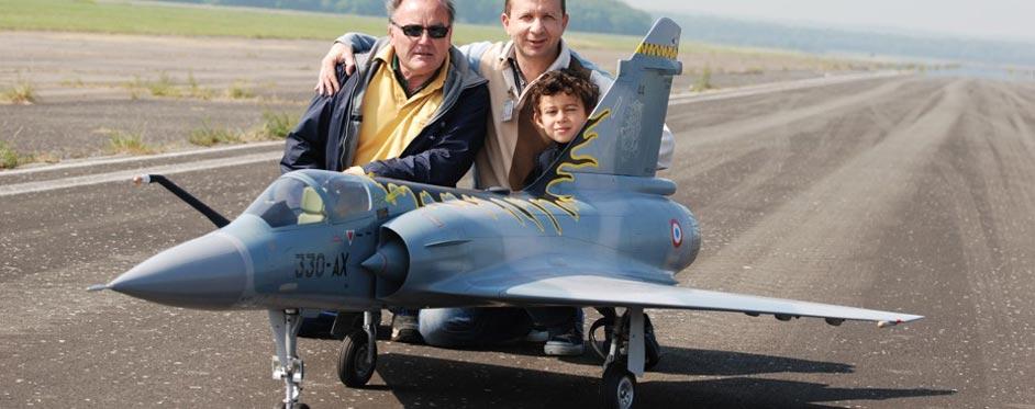 Mirage 2000 d'Etienne Bedossa - Jets RC - Aviation Design