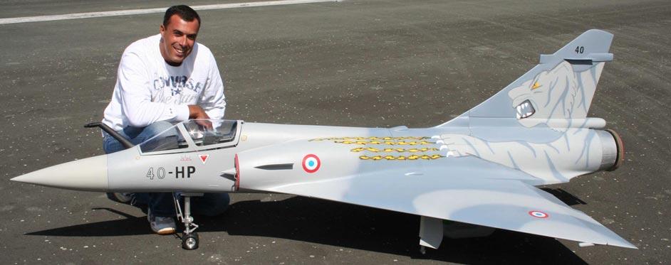 Mirage 2000 d'Henri Perez - Jets RC - Aviation Design