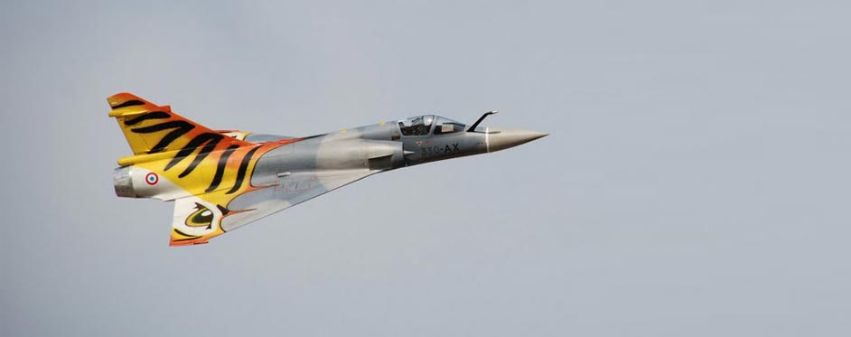 Mirage 2000 en vol - Jets RC - Aviation Design