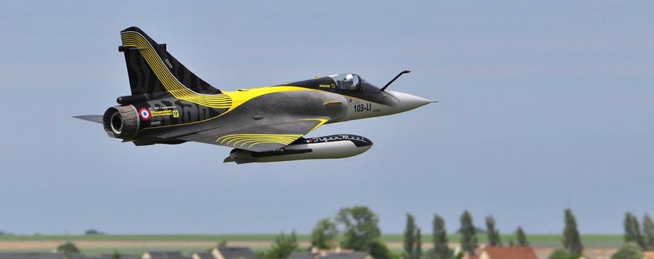 Mirage 2000 Tigermeet 2011 passage à basse altitude - Jets RC - Aviation Design
