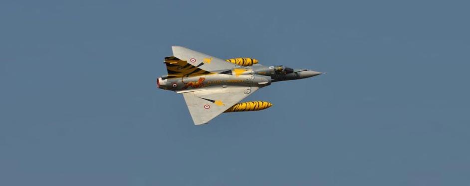 Mirage 2000 Tigermeet en vol de démonstration - Jets RC - Aviation Design
