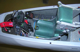 Cockpit Mirage 2000 - Jets radio-commandés - Aviation Design