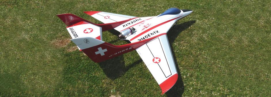 Phoenix modèle d'entraînement économique bi-poutre - Jets RC - Aviation Design