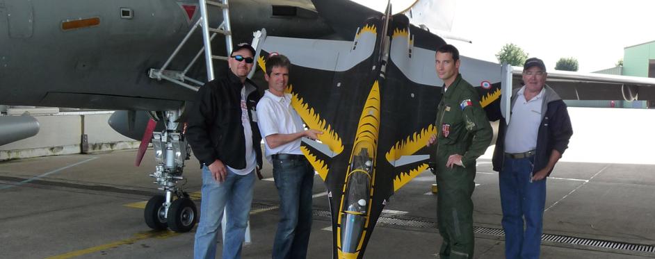 Rafale à Saint-Dizier - Jets RC - Aviation Design