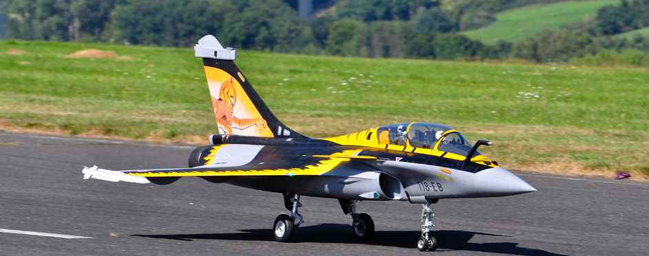 Rafale au décollage - Jets RC - Aviation Design