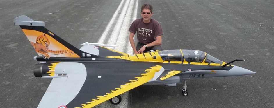 Rafale de éric RANTET - Jets RC - Aviation Design