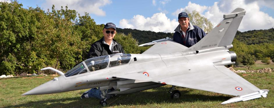 Rafale de Mr Francis Laurens - Jets RC - Aviation Design