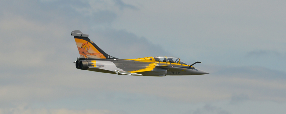 Rafale TigerMeet en vol - Jets RC - Aviation Design