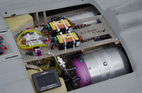 Kit Rafale 1/5eme : Installation bi Jet Cat - Jets radio-commandés - Aviation Design