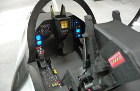 Kit Rafale 1/5eme : LCD cockpit - Jets radio-commandés - Aviation Design