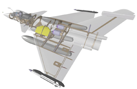 Rafale vue 3D - Jets radio-commandés - Aviation Design