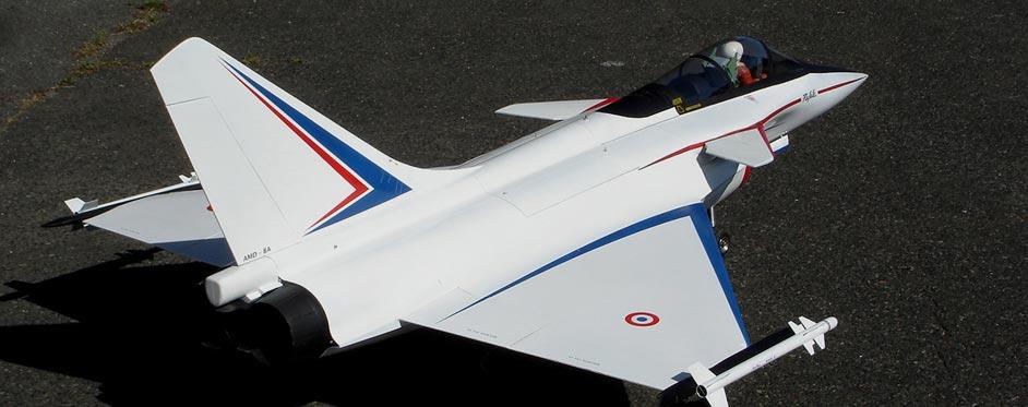 Rafale A version prototype - Jets RC - Aviation Design