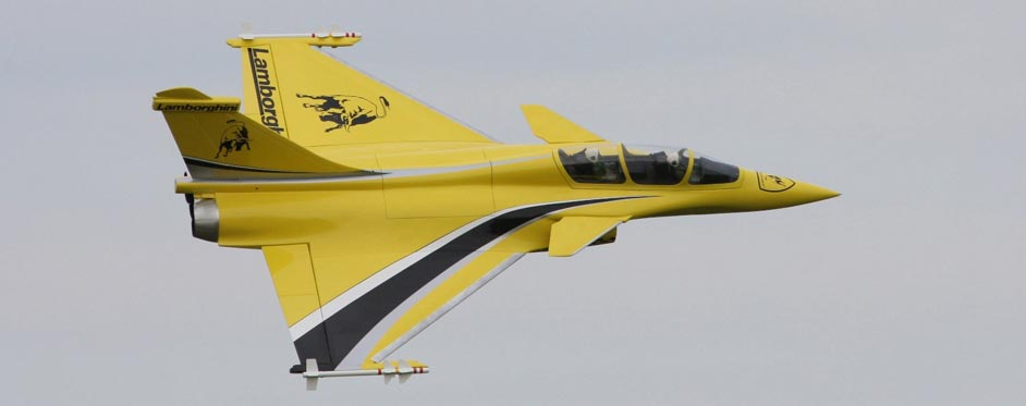 Rafale Lamborghini - Jets RC - Aviation Design