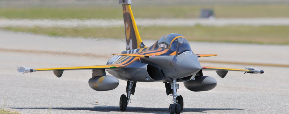 Rafale Tigermeet au sol - Jets RC - Aviation Design