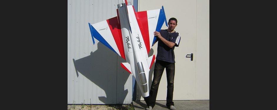 Rafale version démonstrateur - Jets RC - Aviation Design