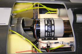 Kit Rafalse 1/5eme : installation du réacteur - Jets radio-commandés - Aviation Design