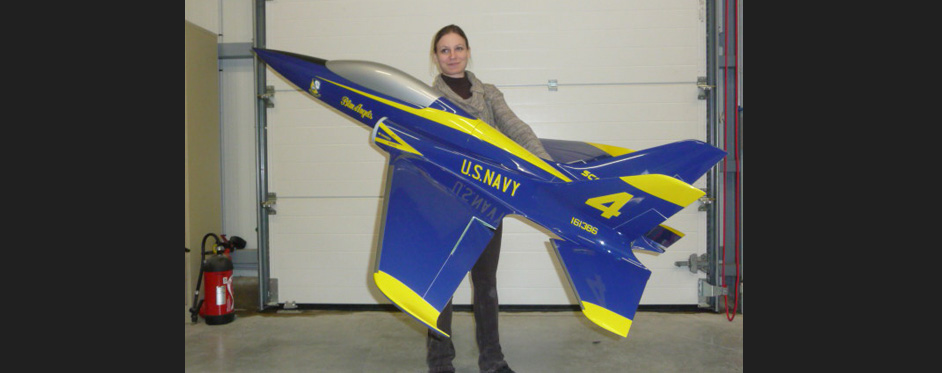 Scorpion Blue Angel - Jets RC - Aviation Design