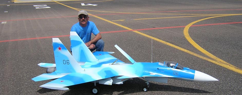Sukhoi 35 de Christian Herit - Jets RC - Aviation Design