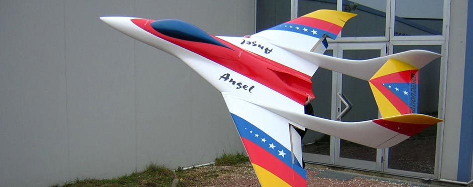 Angel is a large scale twin booms sport model - Jets RC - Aviation Design