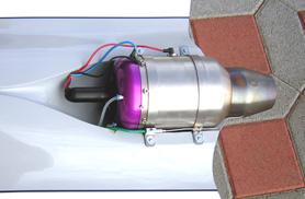 Angel turbine installation - RC Jets models - Aviation Design