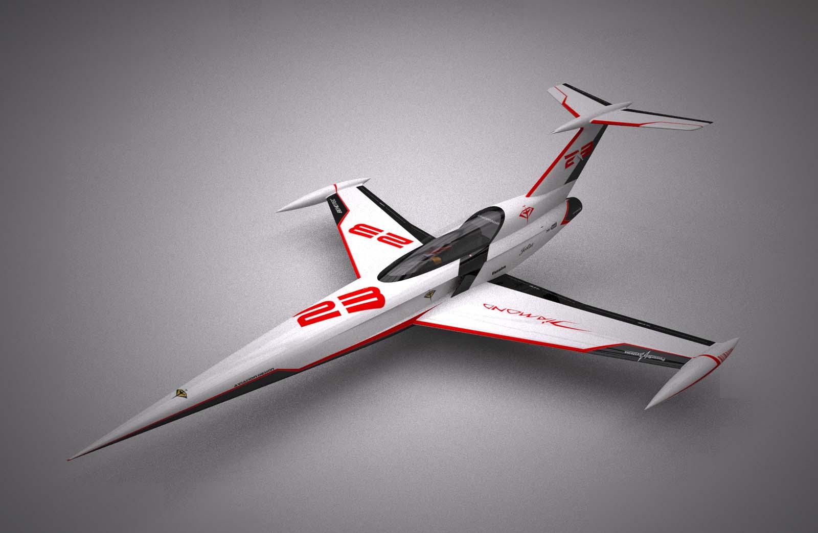 RC Jet Model DIAMOND - Kit designed by Eric Rantet